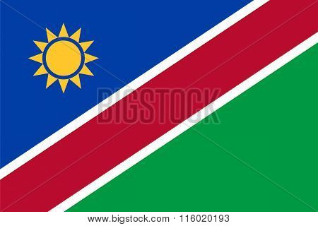 Standard Proportions For Namibia Flag