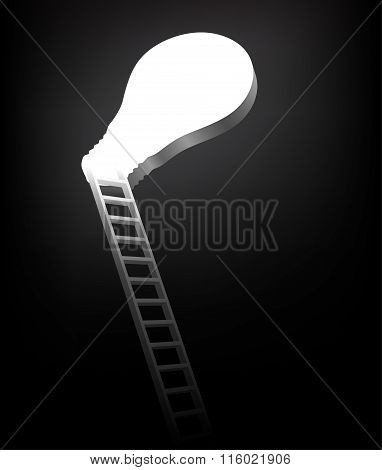 Ladder Leading Up To The Light