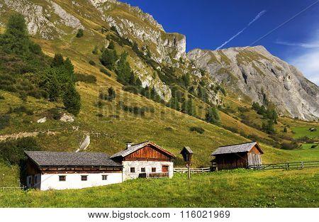 Mountain landscape in Hohe Tauern National Park, Austria, Europe
