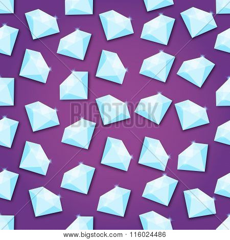 Abstract Creative concept vector background of diamond for Web and Mobile Applications, Illustration