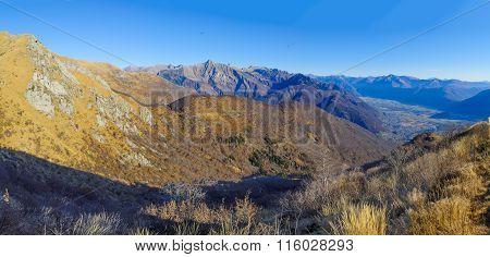 Cardada-cimetta Mountain Range Landscape