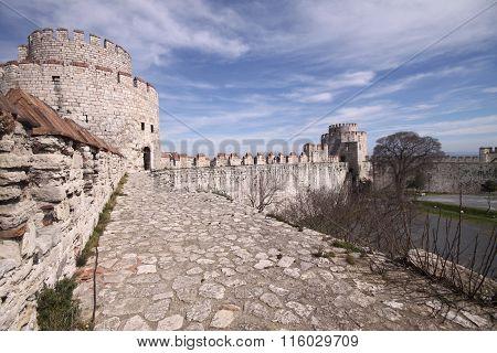 Yedikule Fortress in Istanbul.