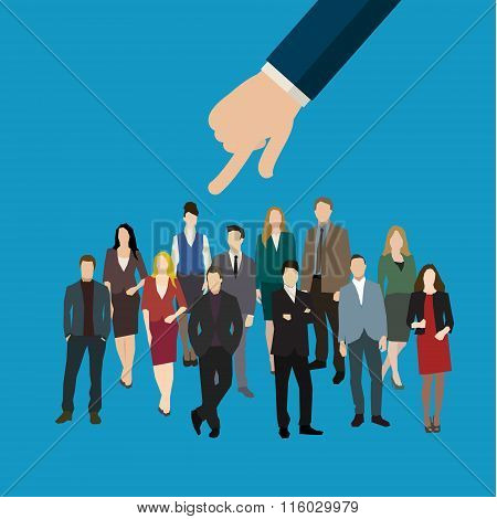 hiring or recruitment