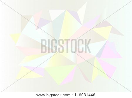 Low poly style vector, Light colors design, low poly style illustration, Abstract low poly backgroun