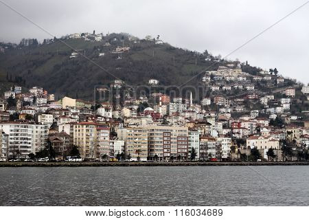 Ordu City in Turkey