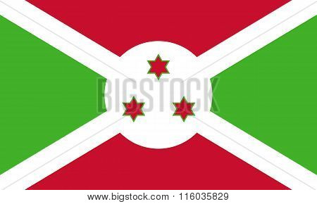 Standard Proportions For Burundi Flag