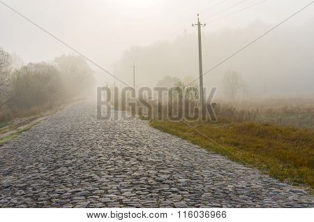 Ancient stone road