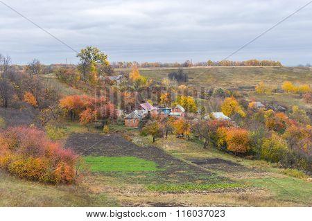 Small hamlet in  Ukraine
