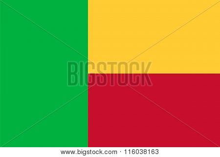 Standard Proportions For Benin Flag