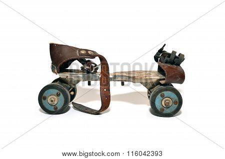 Vintage Rusty Skate