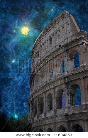 Surreal Roman Coliseum