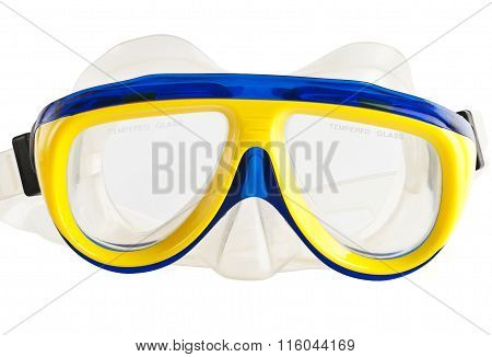 Mask for diving under water