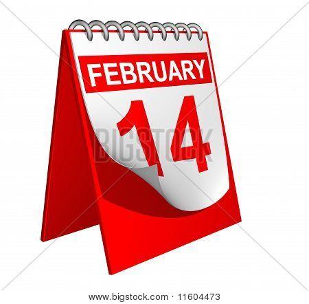 Calendario de San Valentín