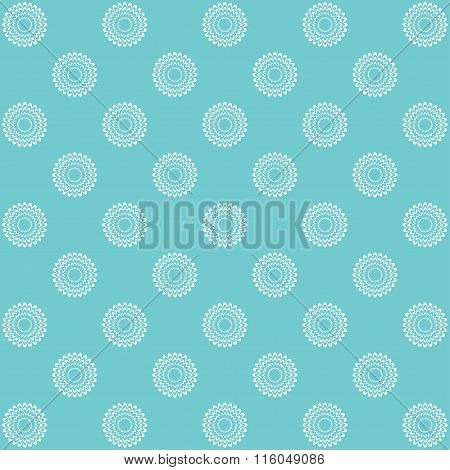 Floral Pattern, Vintage Background