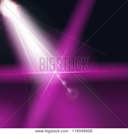 Color Abstract Art Background. Vector Illustration.