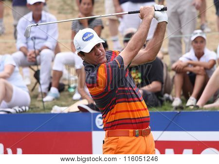 Scott Hend At The Golf French Open 2015