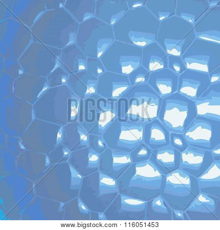 Bubbly Water Abstract Background