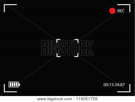 Camera Viewfinder Vector