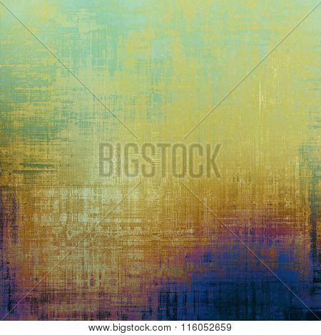 Grunge texture or background with space for text. With different color patterns: yellow (beige); brown; blue; green; pink