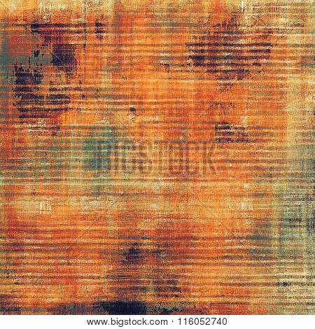 Vintage texture. With different color patterns: yellow (beige); brown; red (orange); green; gray