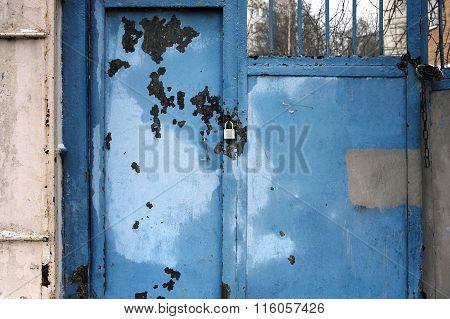 Padlock On Gates