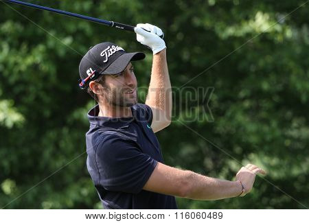Seve Benson At The Golf French Open 2015