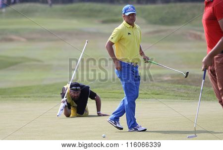 Pelle Edberg  At The Golf French Open 2015