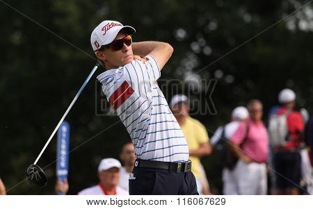 Jordi Garcia Pinto At The Golf French Open 2015