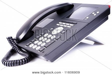 Office Ip Telephone With Lcd