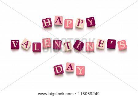 Words happy valentine day