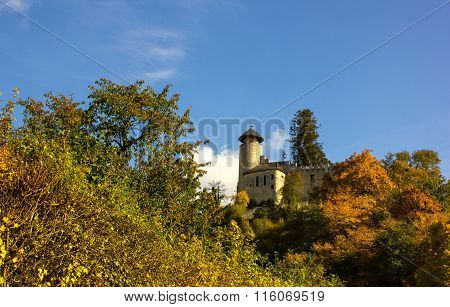 Castle Birseck In The Village Arlesheim (switzerland)