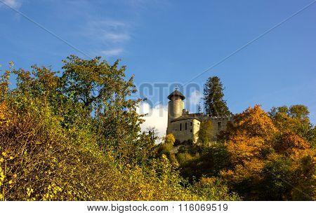 Castle Birseck In The Village Arlesheim (switzerland)