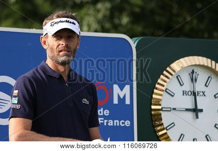Raphael Jacquelin At The Golf French Open 2015