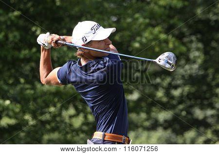 Joakim Lagergren At The Golf French Open 2015