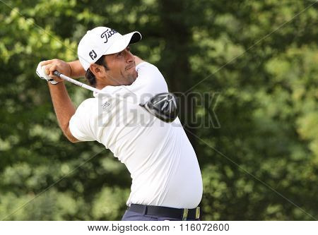 Alexander Levy At The Golf French Open 2015