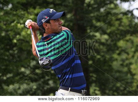 Matteo Manassero At The Golf French Open 2015