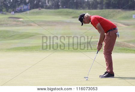Fabien Marty At The Golf French Open 2015