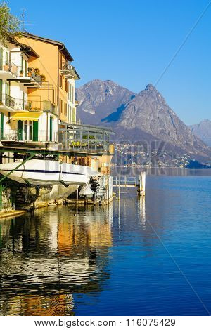 Gandria, On Lake Lugano