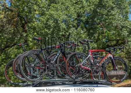 Pro Cycling Team Bikes