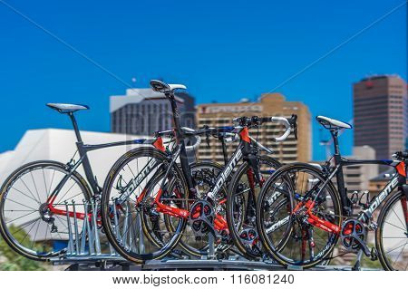 Pro Cycling Team Bikes