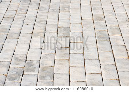 Abstract Background Of Cobble Stones.