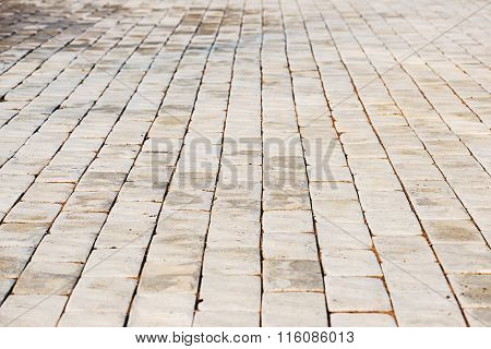 Abstract Background Of Cobble Stones..