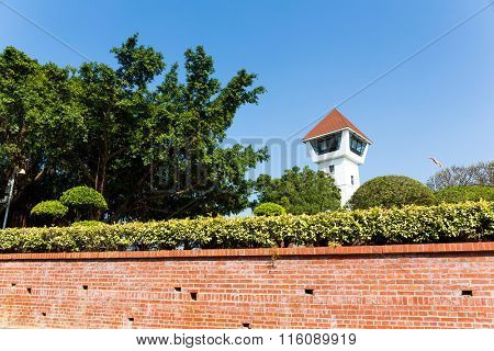 Watchtower of Fort Zeelandia, Tainan, Taiwan