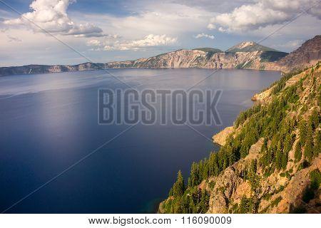 Crater Lake N. P. In Oregon