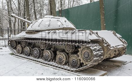 Soviet Heavy Tank Is-3 (object 703.years Of Production 1945-1946)