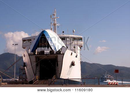 Grote veerboot