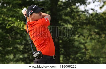 James Morisson At The Golf French Open 2015