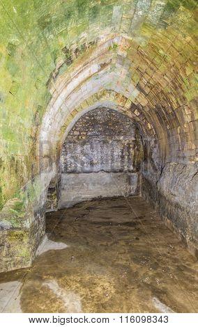 Roman Underground Cistern, Jerusalem, Israel