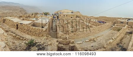 Masada National Park - Ruins Of Famous Israeli Fortress