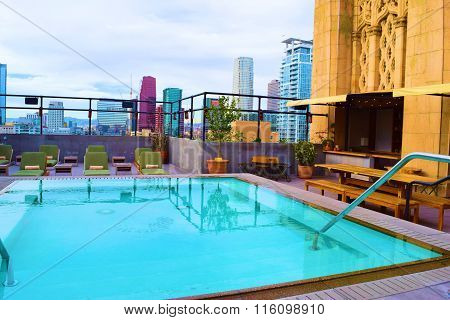City Rooftop Pool